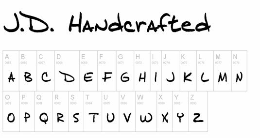 Creative Handwriting Fonts | Hand Writing