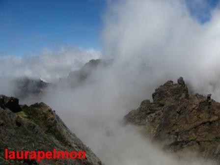 Vista del pico Areeiro