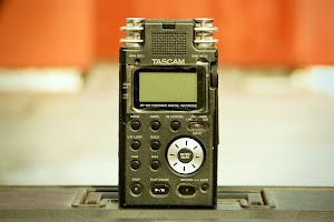 Grabador de sonido Tascam