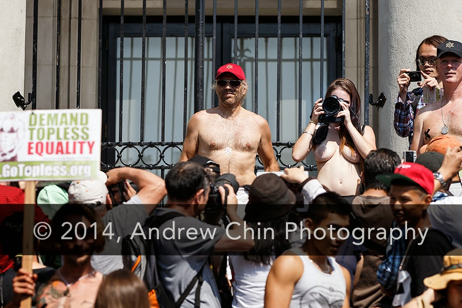 New Go topless day 2014 good words
