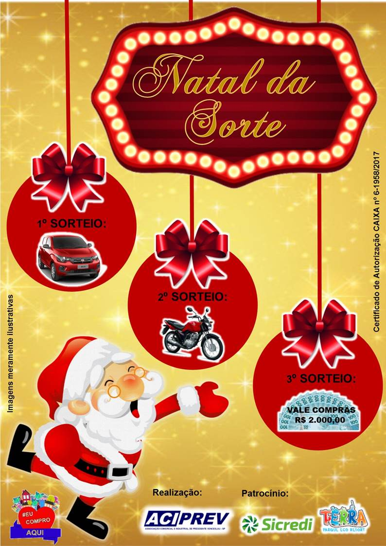 Natal da Sorte em Venceslau