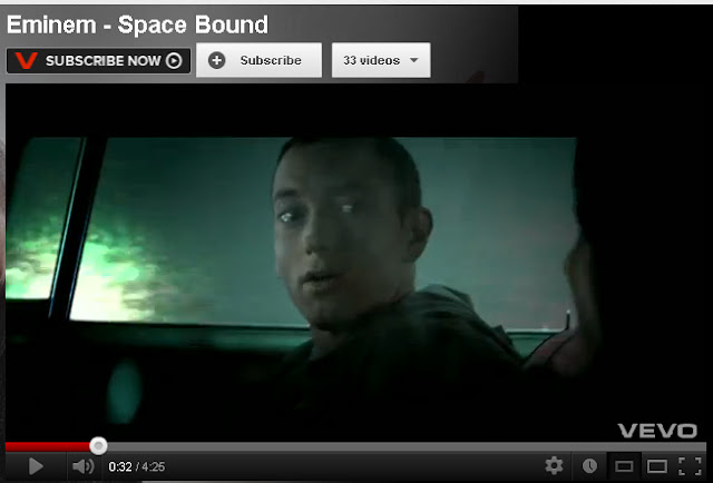 an analysis of space bound by eminem