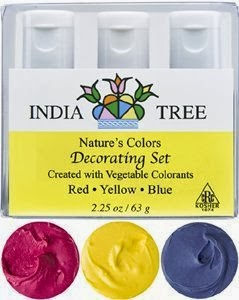 Avoid toxic food colouring buy using natural, plant basedl food colouring