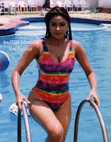 Actress Simran Boobs In Bikini