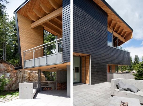 deco Design Moderno Para Casas na Montanha
