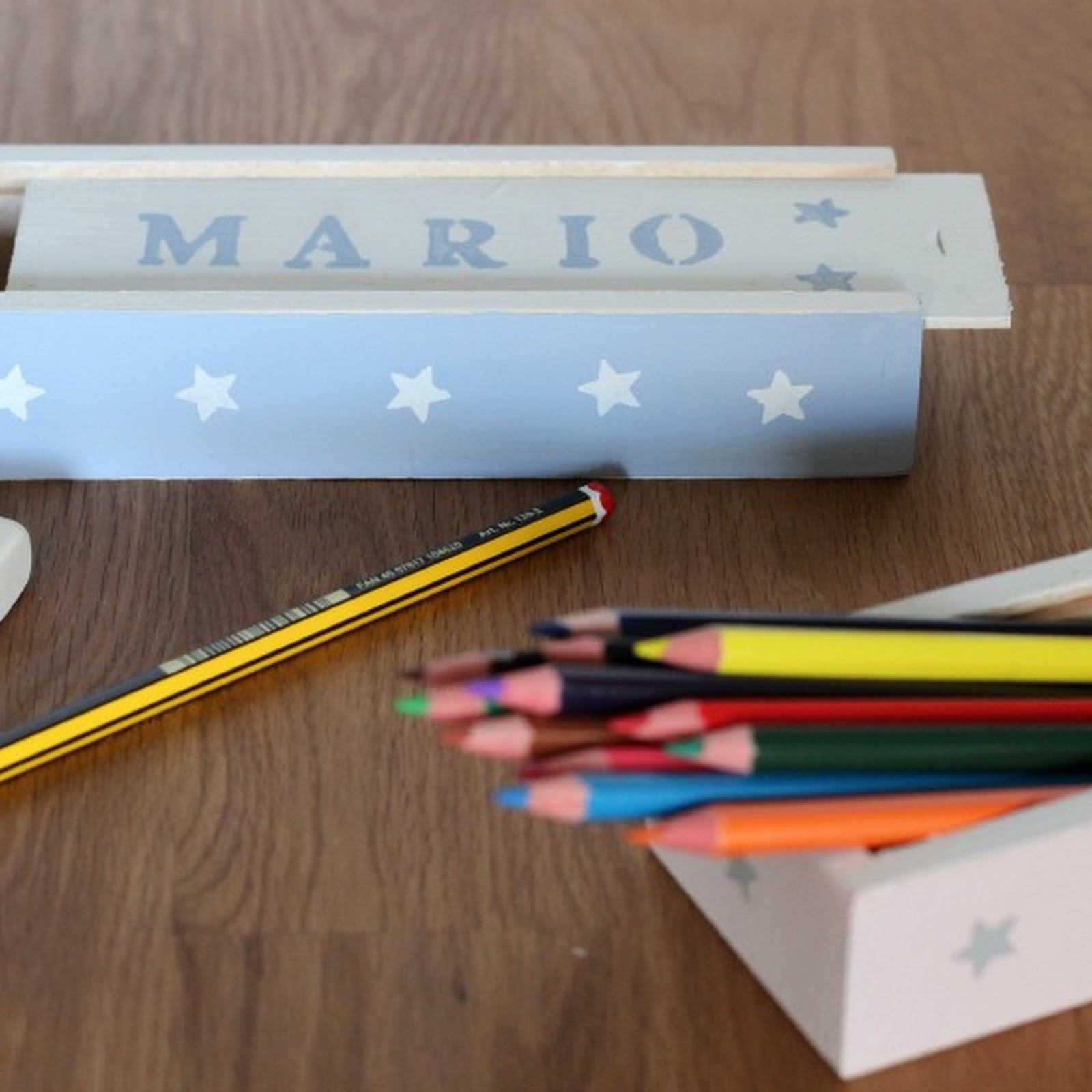 Plumiers con Chalk Paint