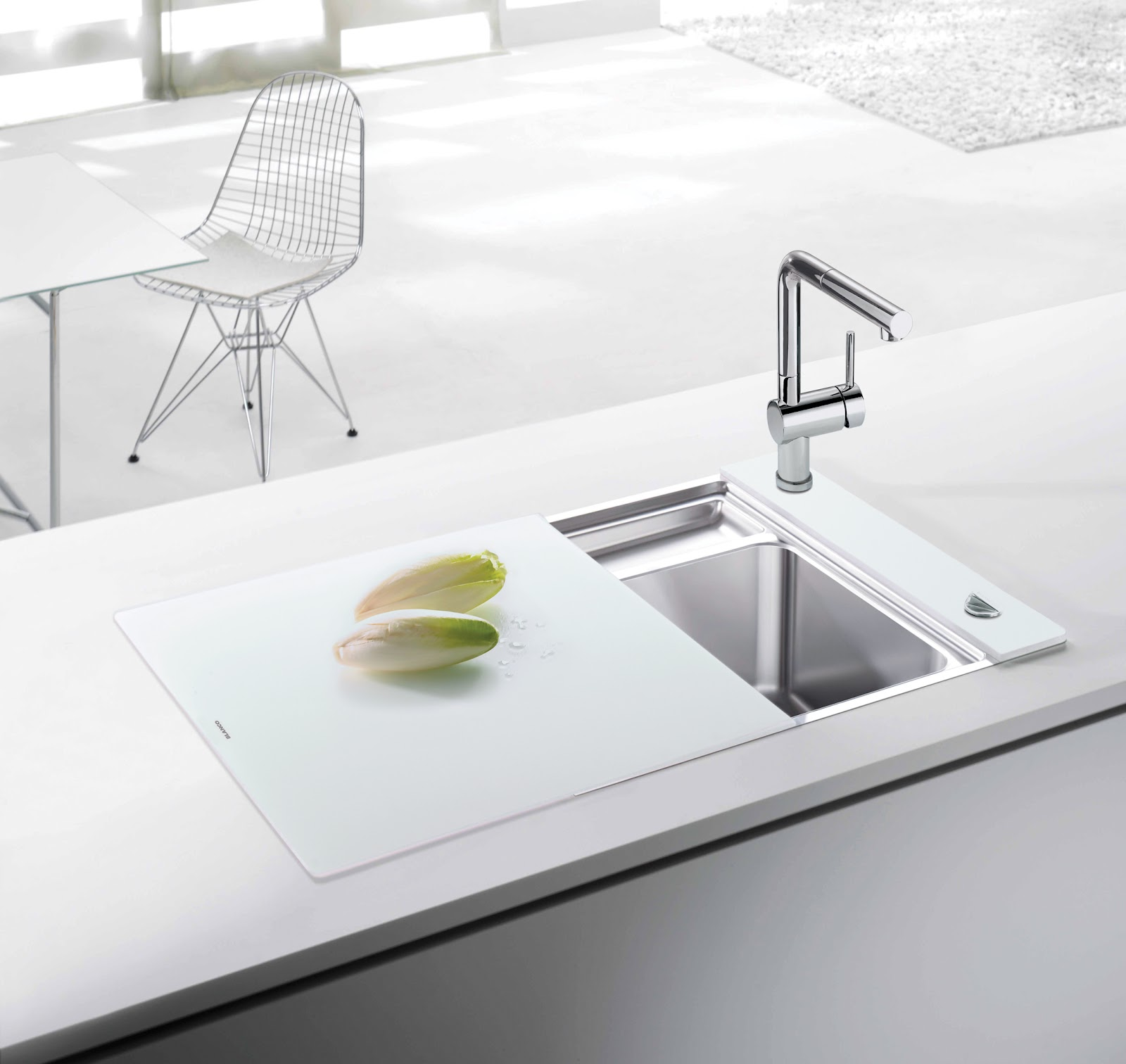Small White Sink : About my Blanco Connection