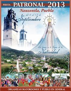 "Fiesta Patronal ""NAUZONTLA PUEBLA 2013"""