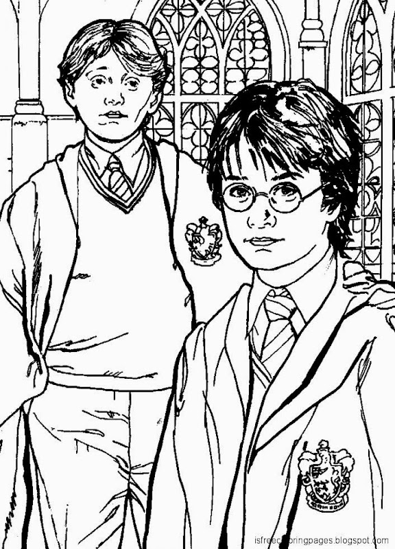 Harry Potter Coloring Pages | Free Coloring Pages