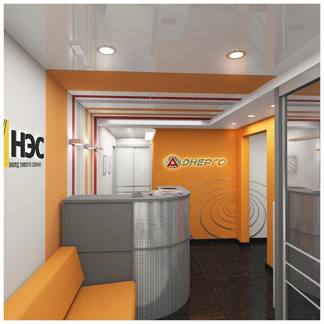 Дизайн офиса компании дизайн студия Dulisov design классный