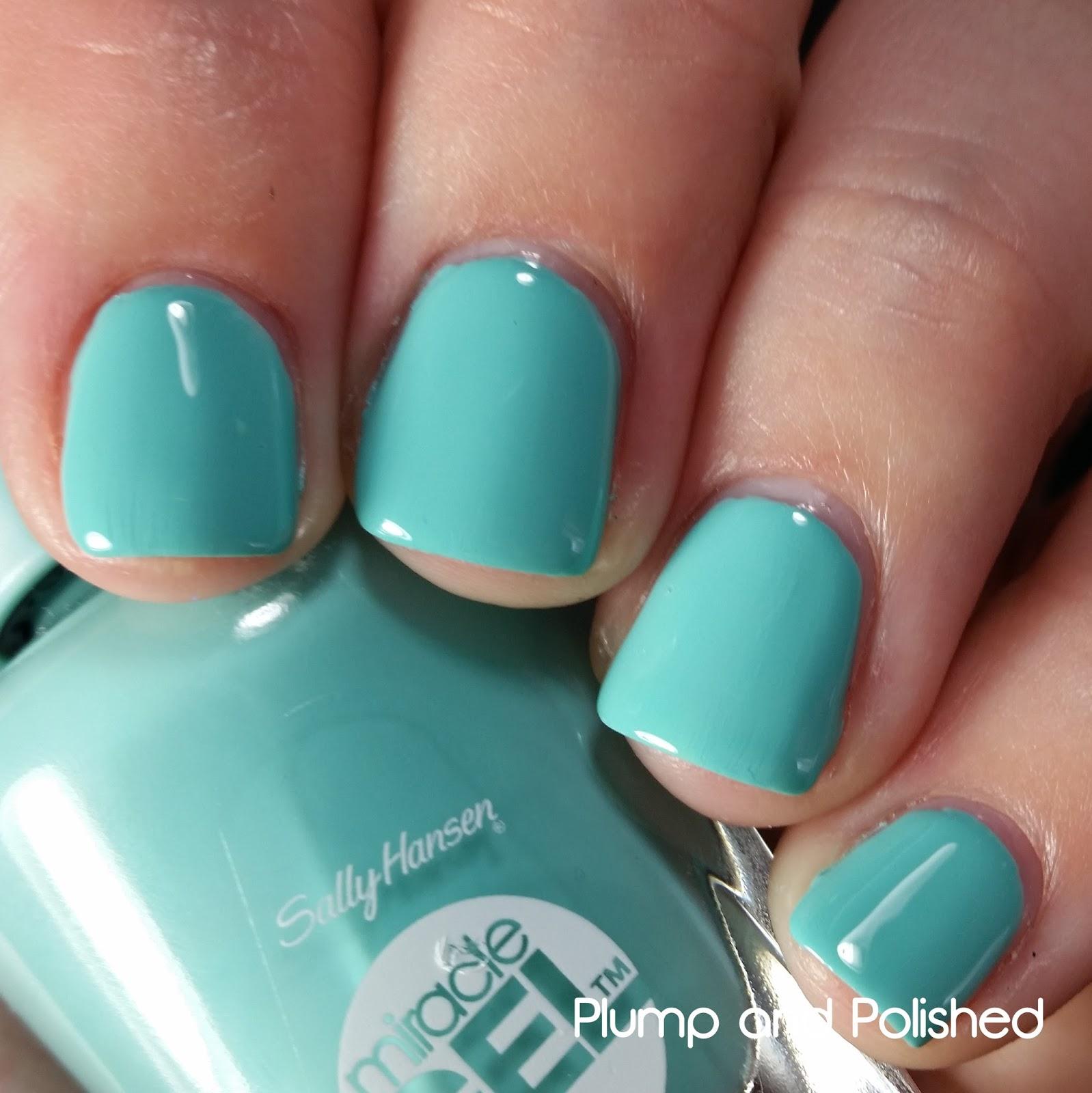 plump and polished: sally hansen - miracle gel polish