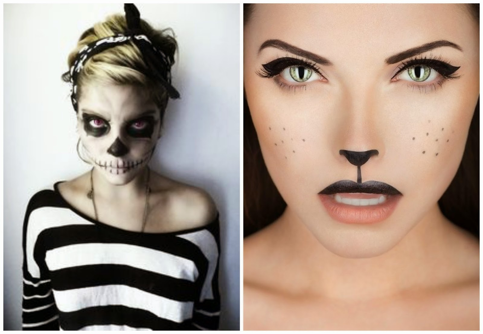 Quelques jours avant halloween valy 39 s blog - Maquillage halloween chat ...