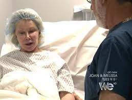 Joan Rivers in hospital after plastic surgery