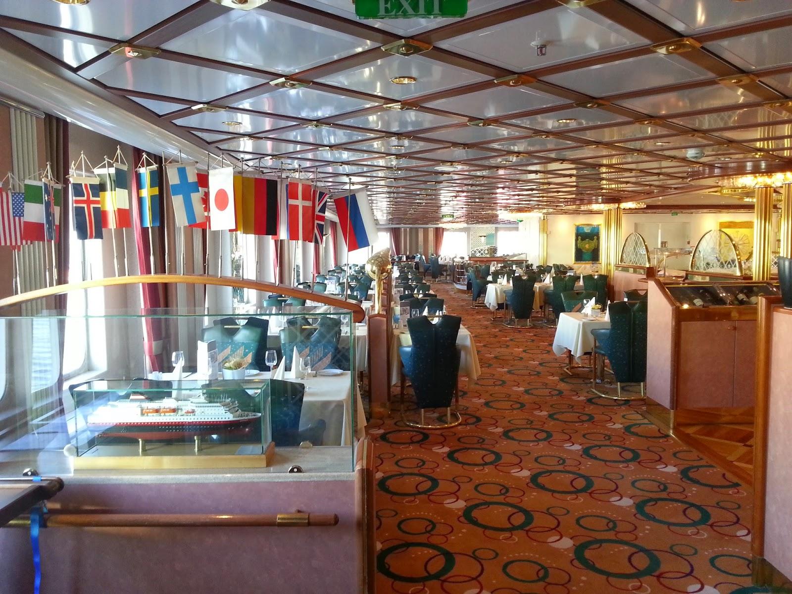 Hurtigruten MS Nordlys - Stjernesalen Restaurant