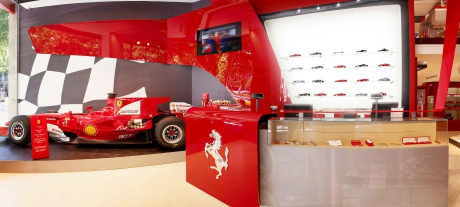 Retail Interior Design | Ferrari Stores | Iosa Ghini Associati
