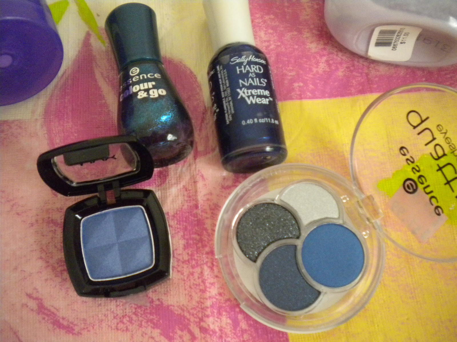 My little things beauty diary by monica rainbow tag for How to renew old nail polish