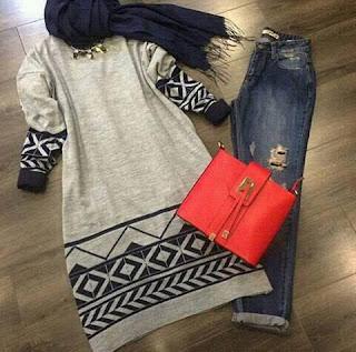 تشكيلة جديدة وراقية من ملابس المحجبات 2016