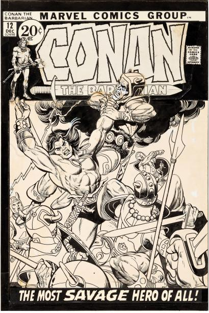 Cover Gallery: Conan The Barbarian