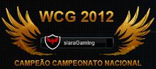 Campeão WCG2012 siaraGaming