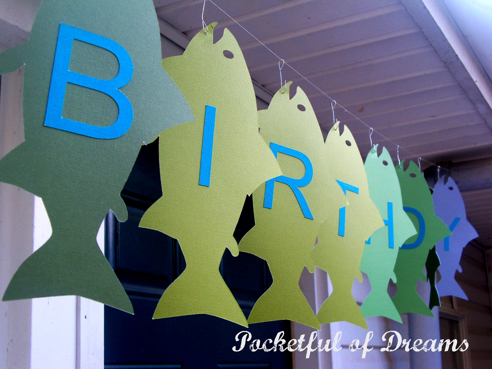 Pocketful of dreams gone fishing party for Fish birthday party
