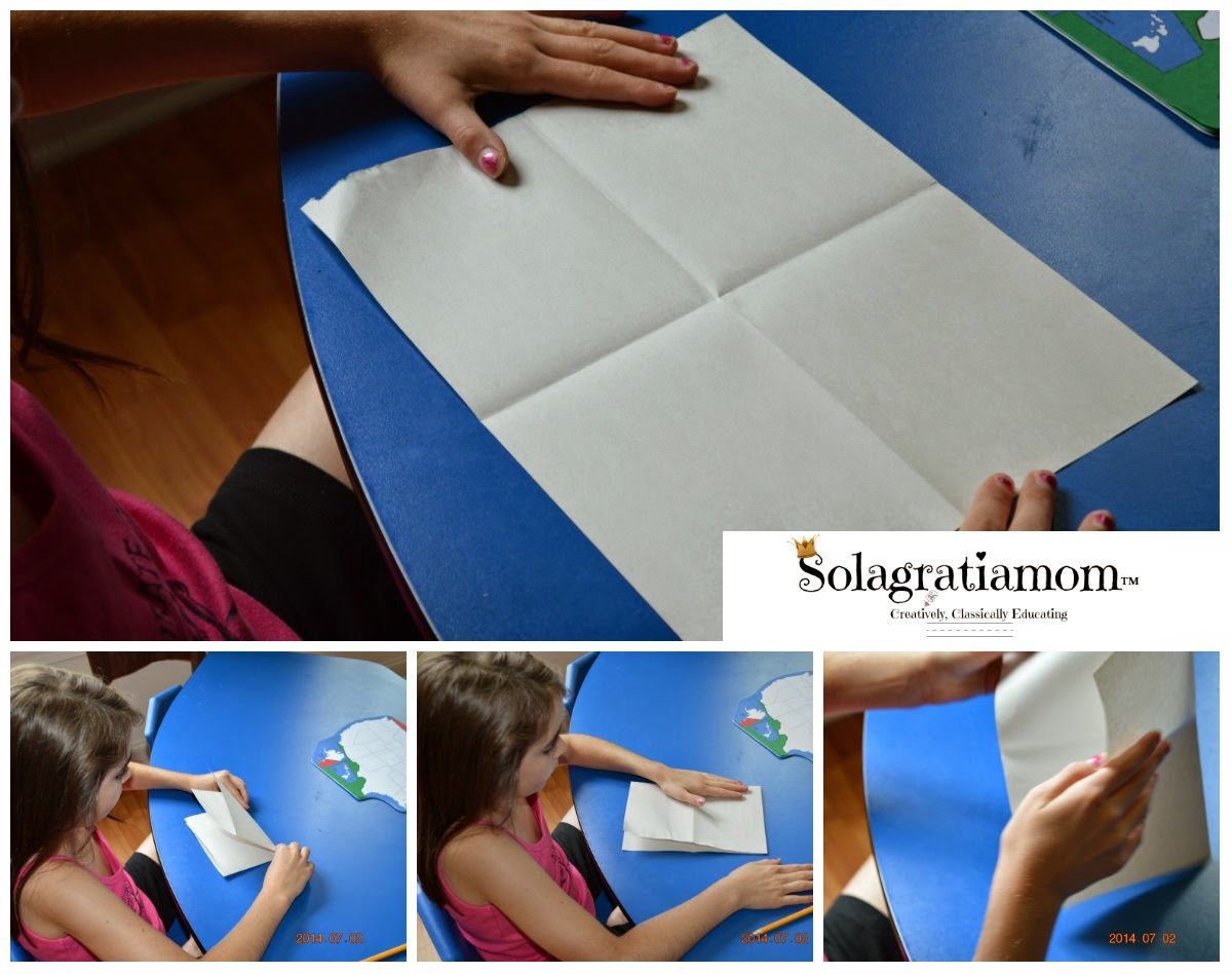 Solagratiamom How To Start Young Kids Drawing The US - Draw on us map