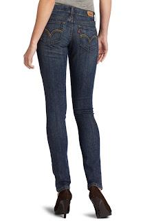 Jeans Levi's Paling Populer untuk Wanita