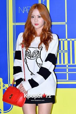 Han Seung Yeon KARA Lucky Chouette Owl Sweatshirt