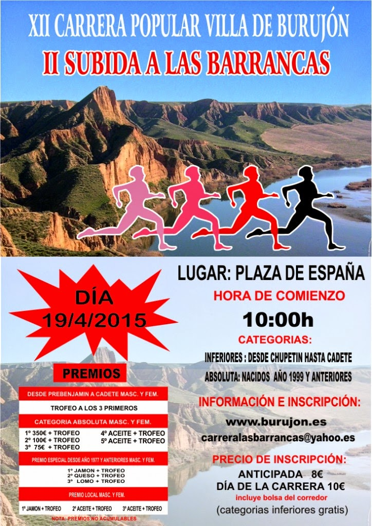 XII Carrera Popular Villa de Burujón