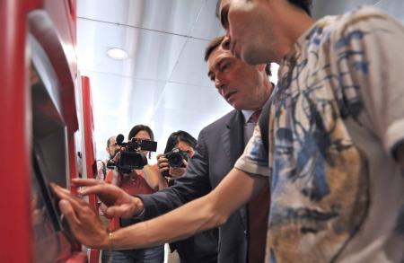 FGV facilita la compra de billetes de metro a los invidentes mediante la voz en las máquinas de venta automática
