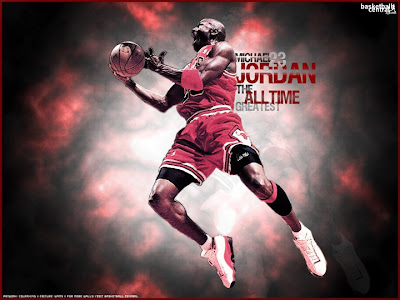 Michael Jordan Slam Dunk Champion
