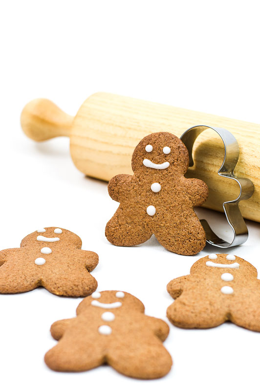 Gingerbread man cookies title picture