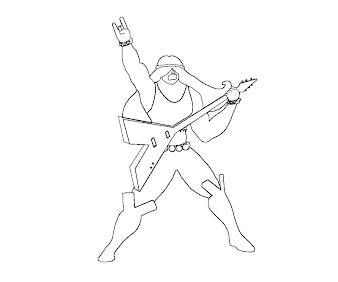 #2 Justice Friends Coloring Page