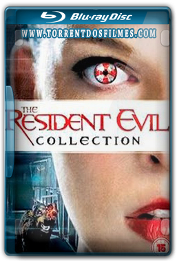 Pentalogia Resident Evil (2002-2012) Torrent Dublado - BluRay Rip 1080p Download