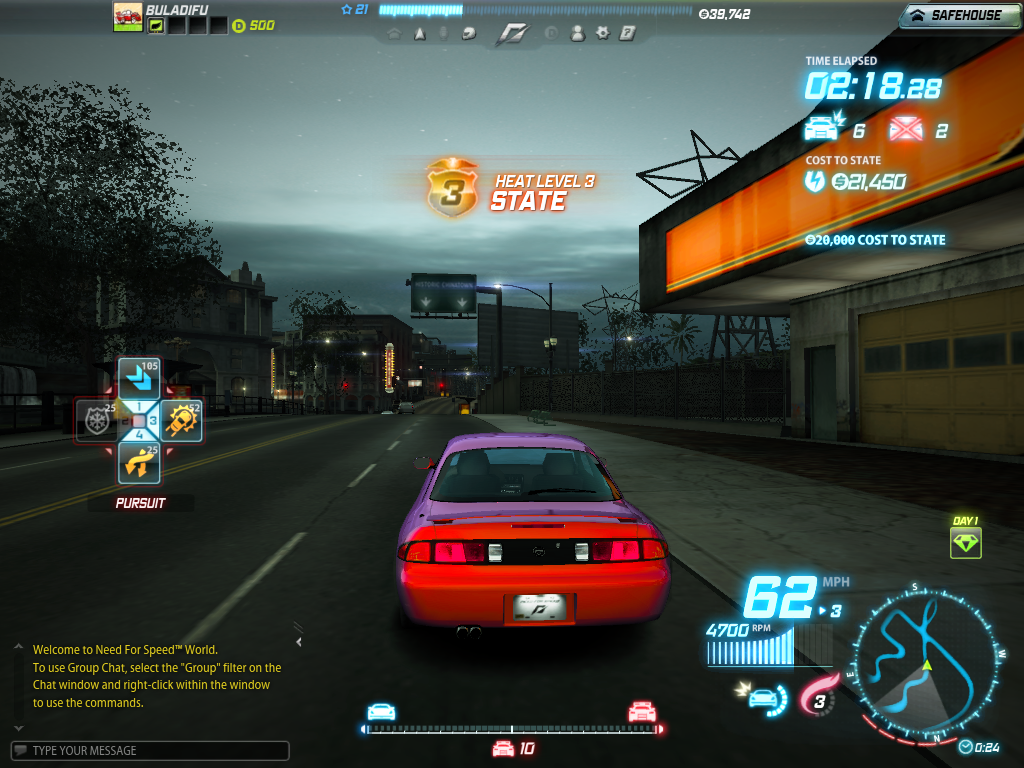 Need for speed world part two all you need to know about games need for speed world heat level 3 gumiabroncs Images