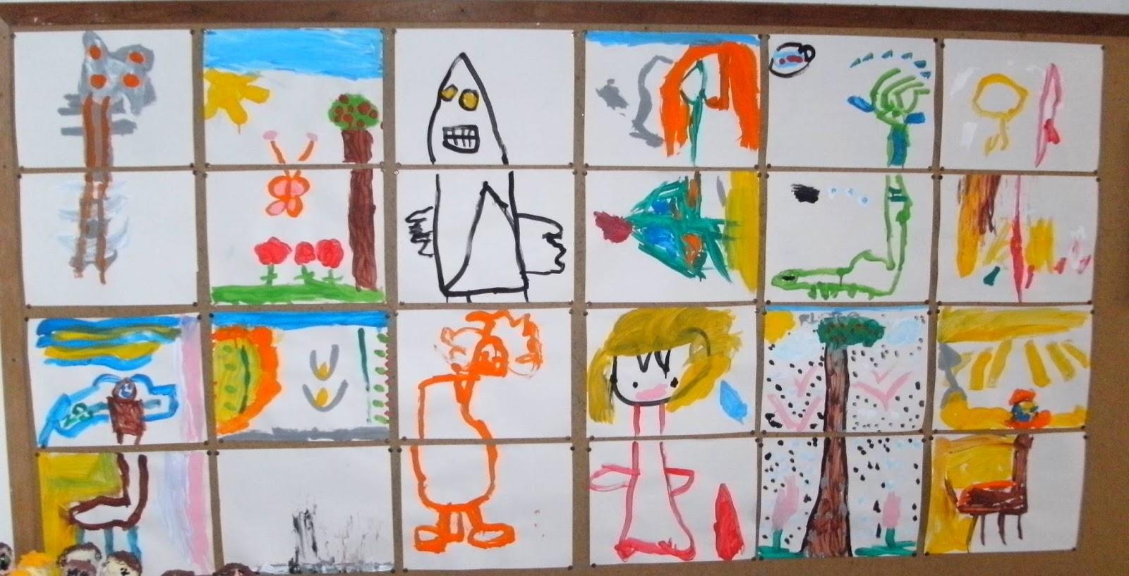 Cultura infantil arte hist ria e brincadeira pintura - Pintura de azulejos ...