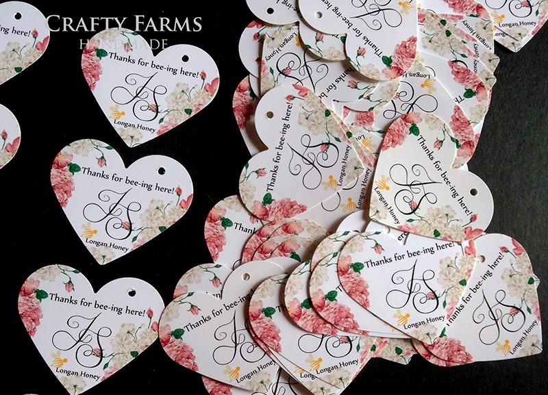 Wedding Gift Tag Malaysia : Wedding Card Malaysia Crafty Farms Handmade : Peonies Thank You Tag ...