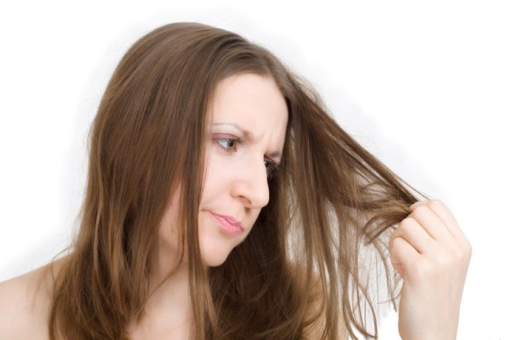 merawat rambut bercabang