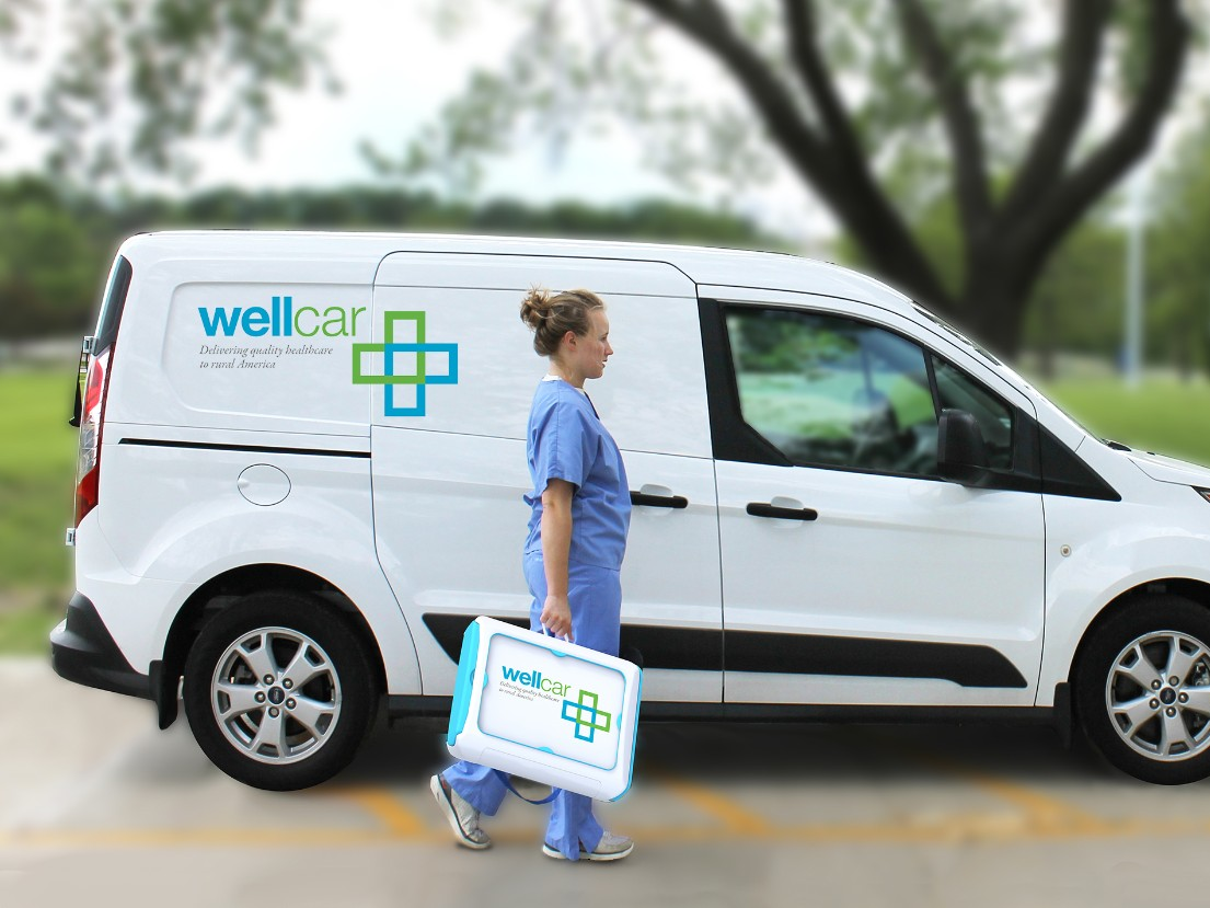 University of Kansas's WellCar Program Receives Ford Transit Connect Donation