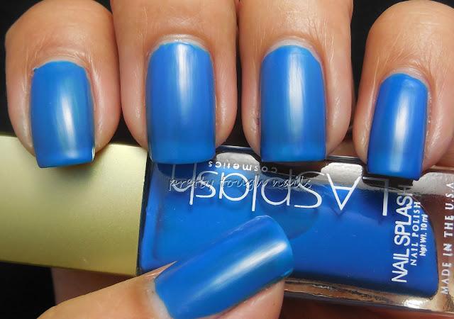 LA Splash Cosmetics Blowfish Blue