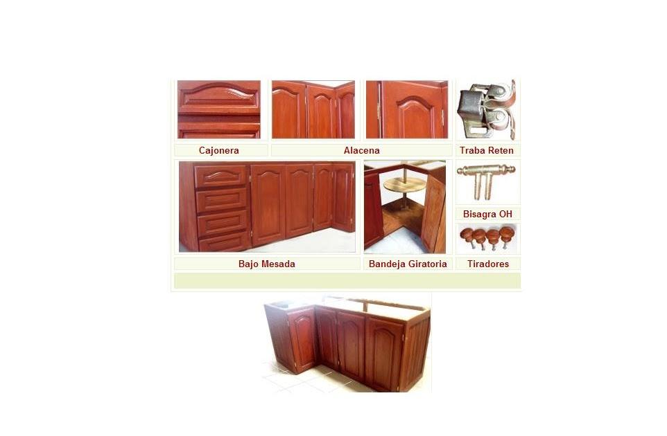 Nuevo santiago aberturas s r l nsa aberturas muebles de - Medidas estandar de muebles de cocina ...