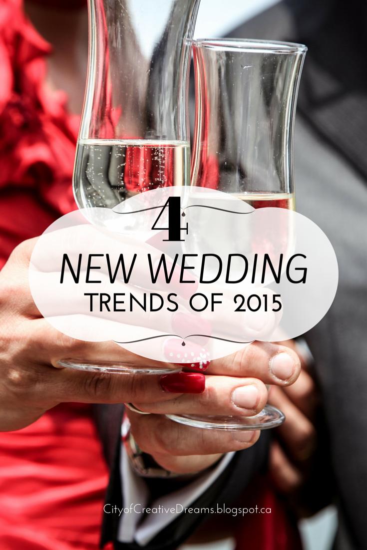 New Wedding Trends of 2015