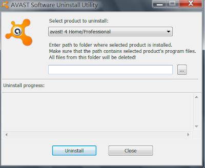avast防毒軟體專用完整移除卸載工具,avast! Antivirus Removal Tool V8.0.1489.300