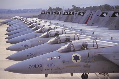 Pesawat Tempur Israel Kembali Bombardir Jalur Gaza