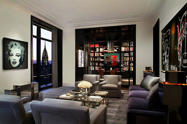 Style and elegance of black color in the interior