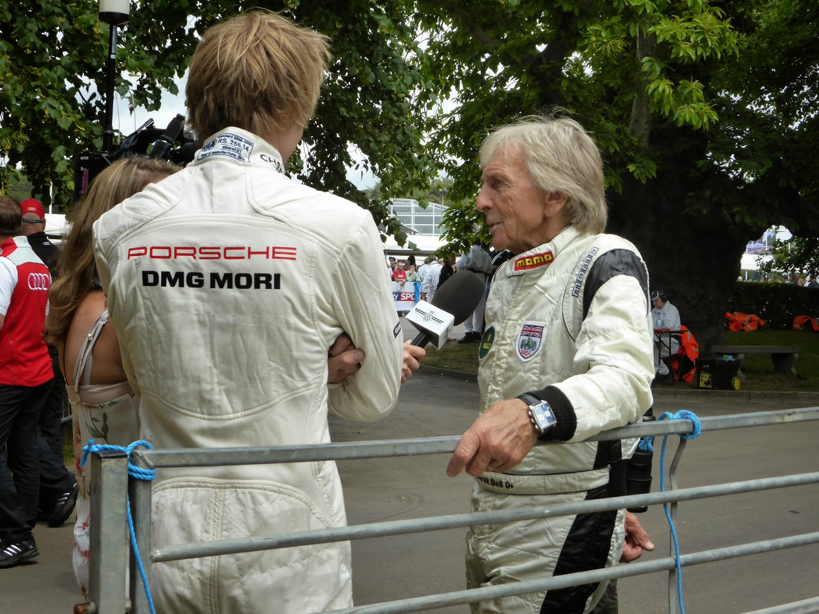 Derek Bell and Brendan Hartley