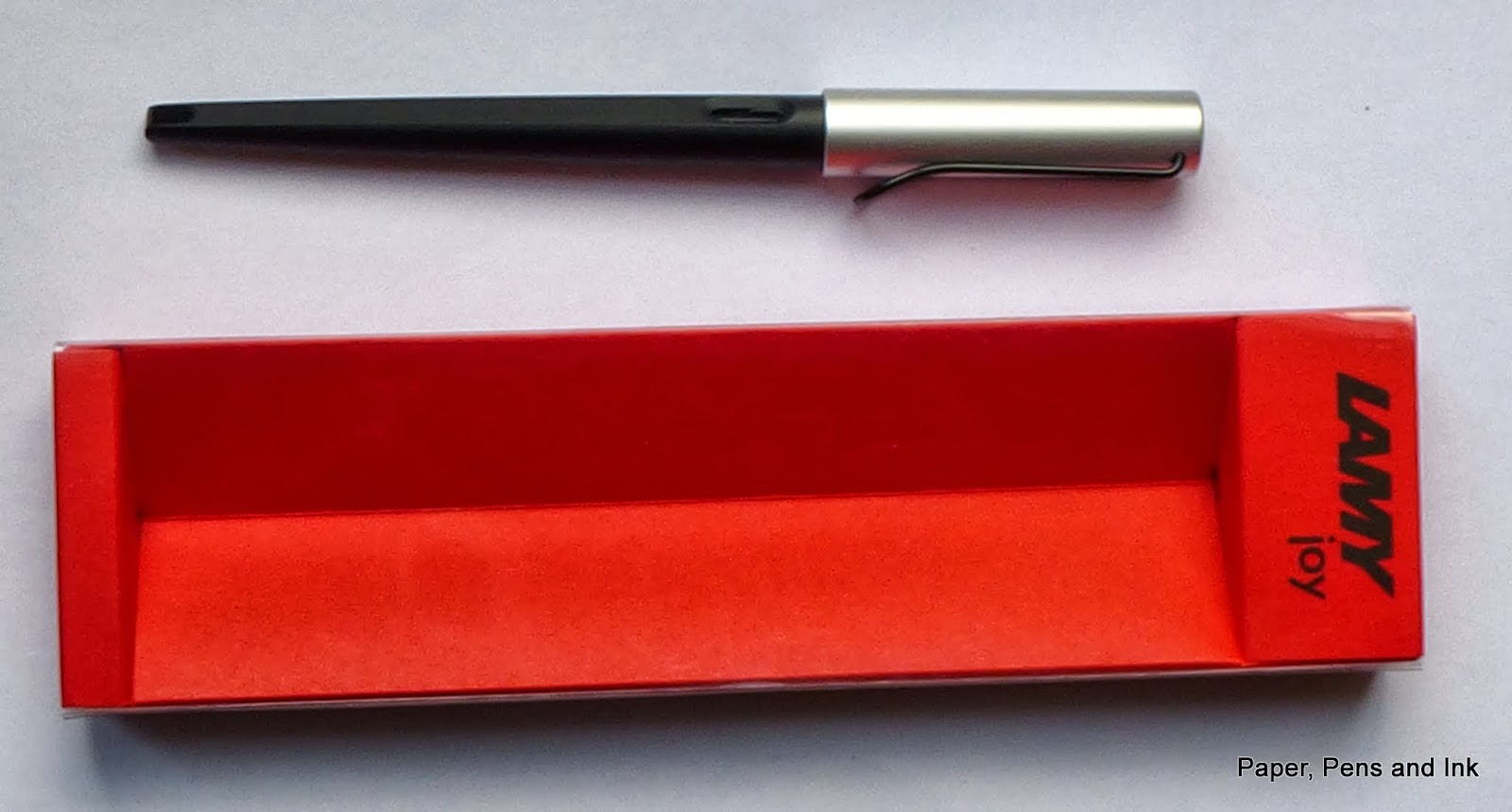 Paper Pens Ink: Review of Lamy Joy Calligraphy Fountain Pen