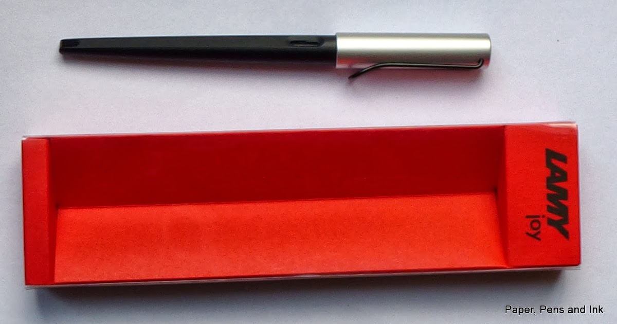 Paper Pens Ink Review Of Lamy Joy Calligraphy Fountain Pen