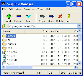 7-zip free download screenshots