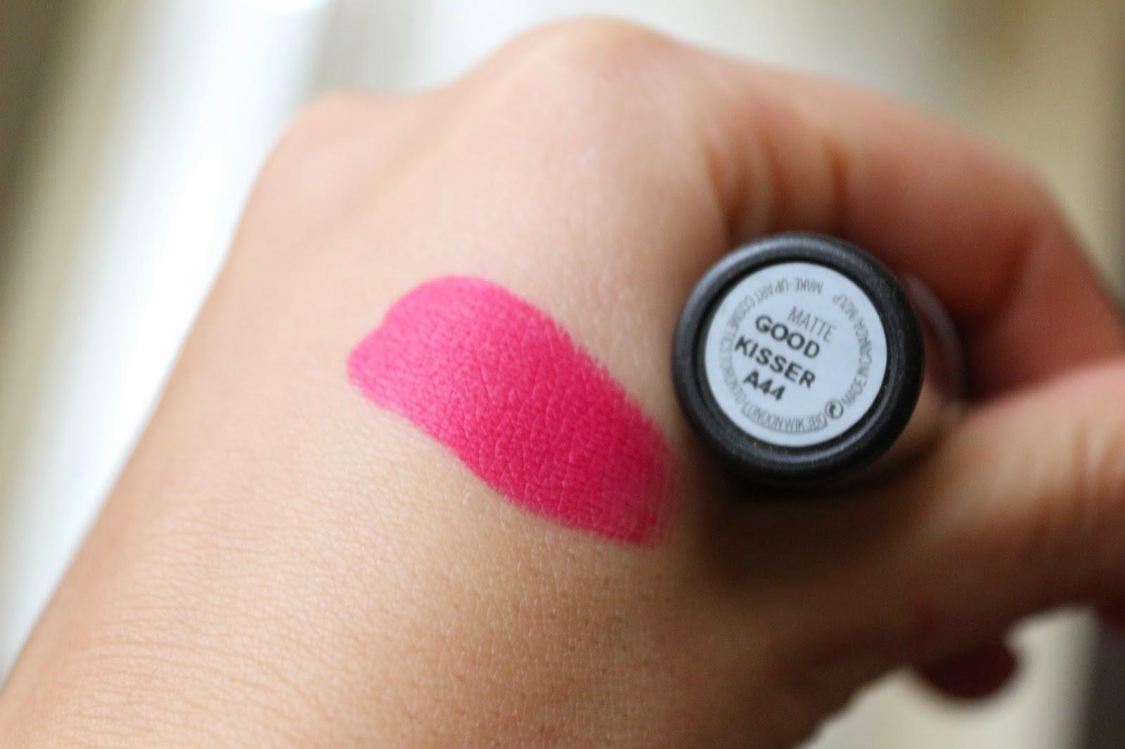 elca kozmetik mac bobbi brown lipstick goodkisser