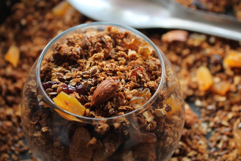 Granola Recipe / Homemade Muesli Recipe / Homemade Granola Recipe